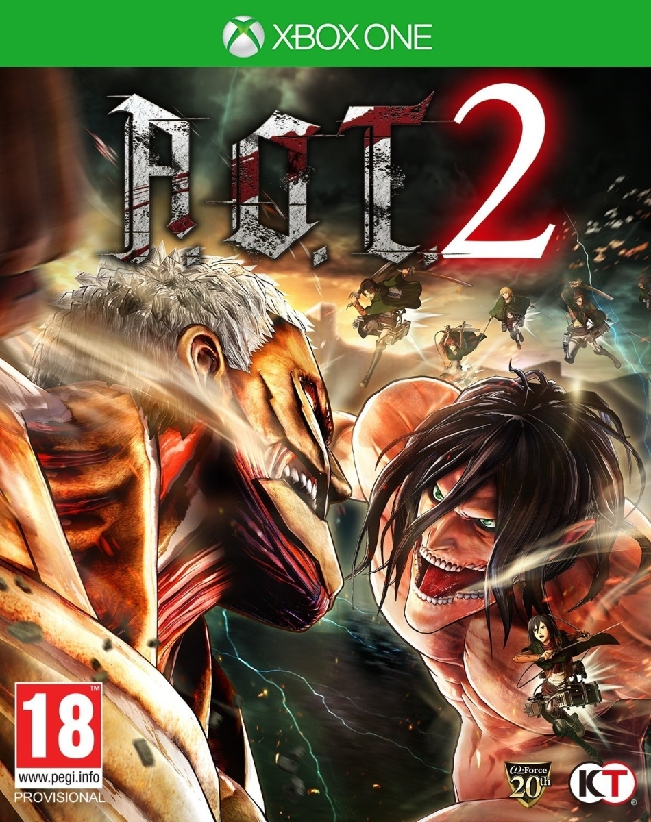 Attack on Titan A.O.T. 2 (Xbox One)
